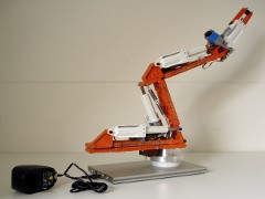 The Teach robot is a modern and versatile educational robot, produced by Edutec.