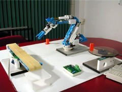 The Teach-robot is a 5-axis robot, specially developed for educational purposes, produced by Edutec.