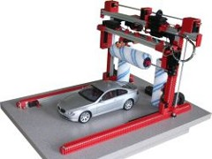 The car-wash is a simulation model for PLC control.